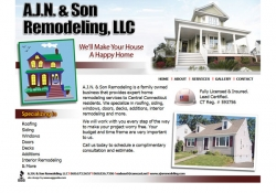 AJN Remodeling Website
