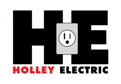 holley electric logo concept