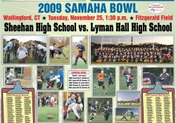 Rivalry Week Project - Sheehan vs. Lyman Hall High School