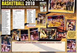 Rivalry Week Project - Sheehan High School CT Basketball Champions